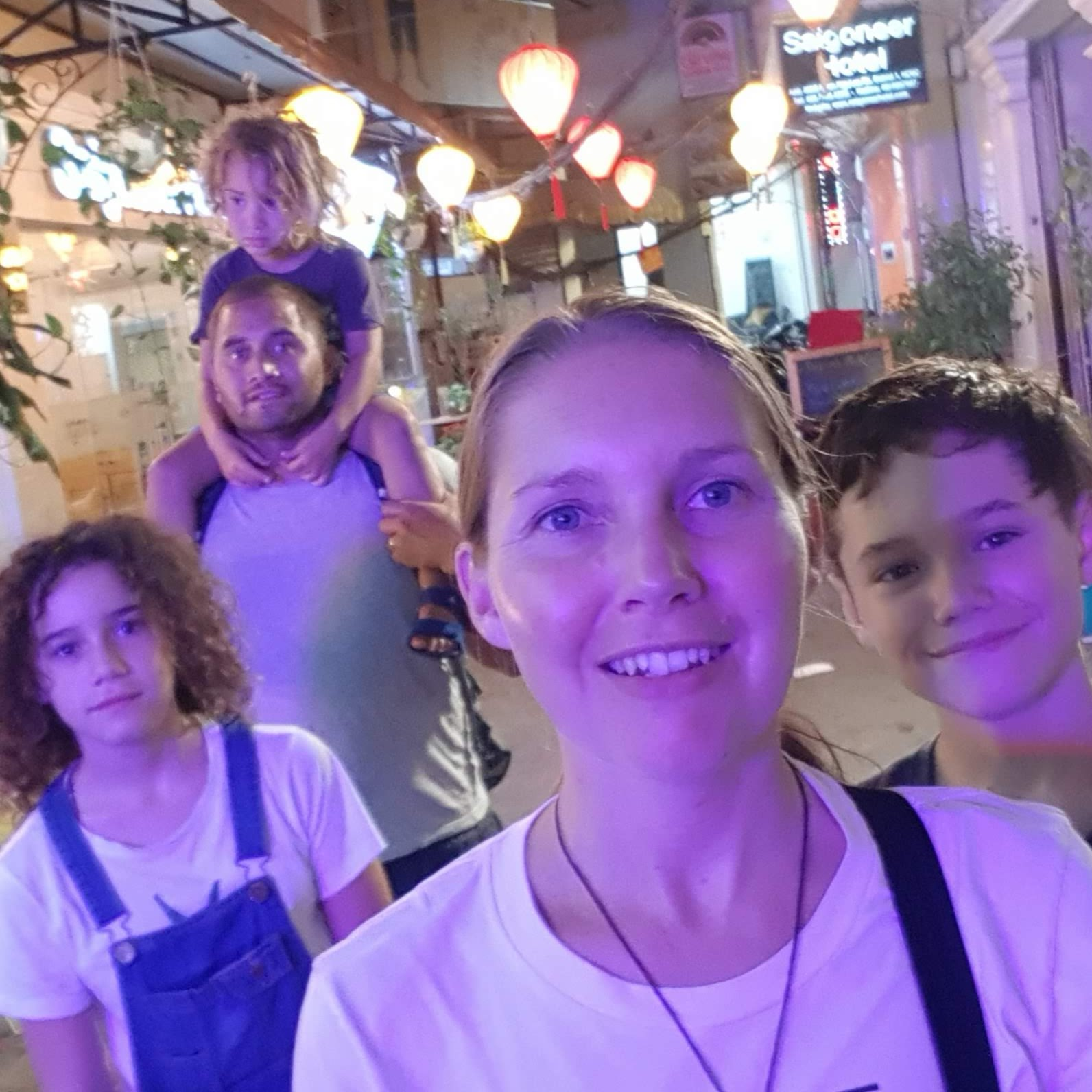 World Travel Ambitions - Family Life Outside the Box - Saigon, Vietnam - March 2020