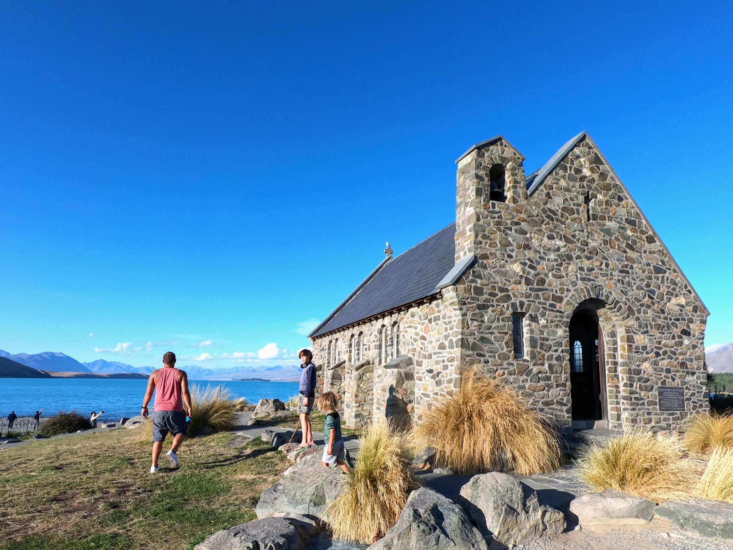 World Travel Ambitions - Family Life Outside the Box - Tekapo Church - February 2020