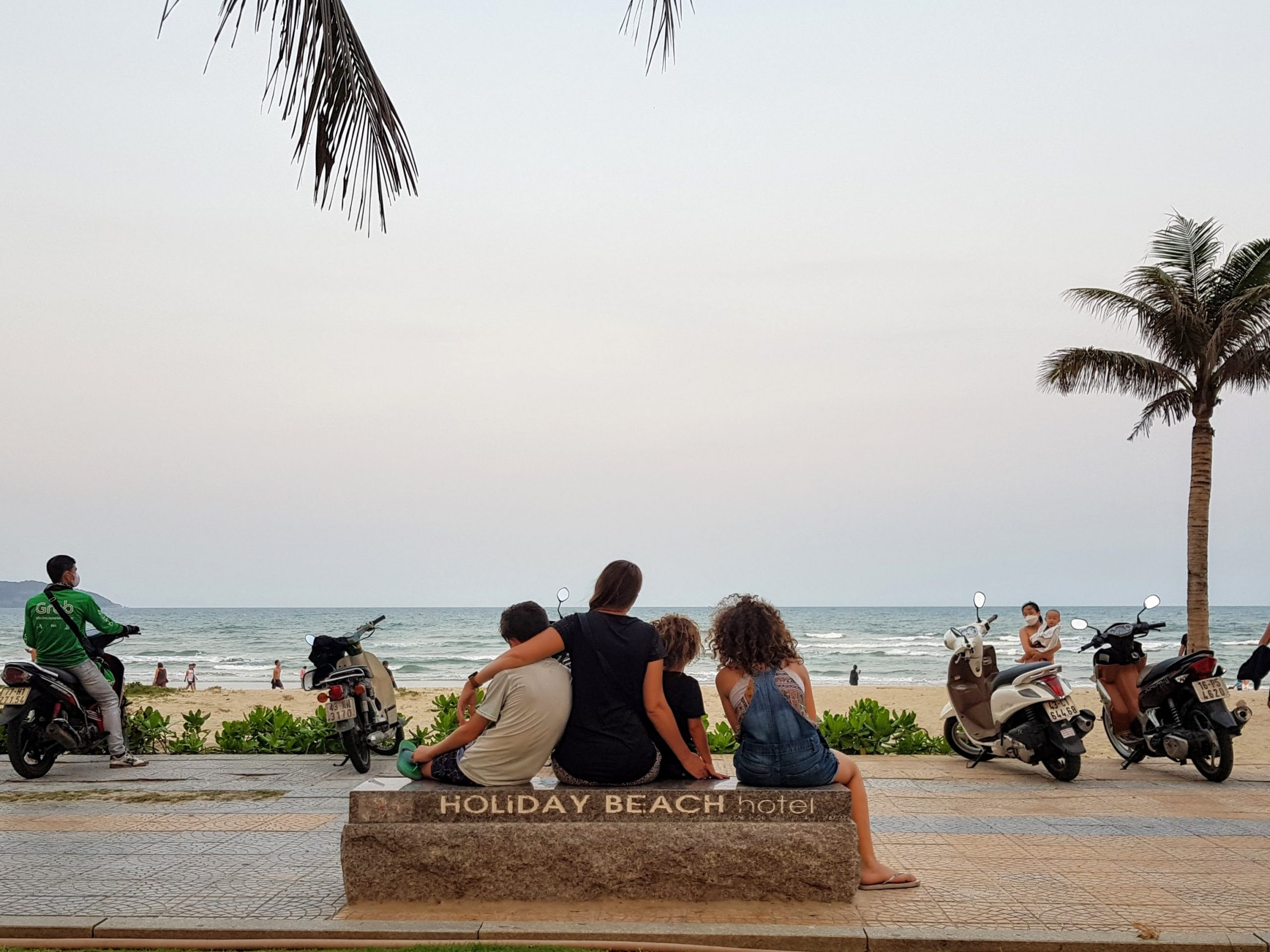 Danang Family Travel Guide - World-Travel-Ambitions-Family-Life-Outside-the-Box-My-Khe-Beach-Da-Nang-March-2020