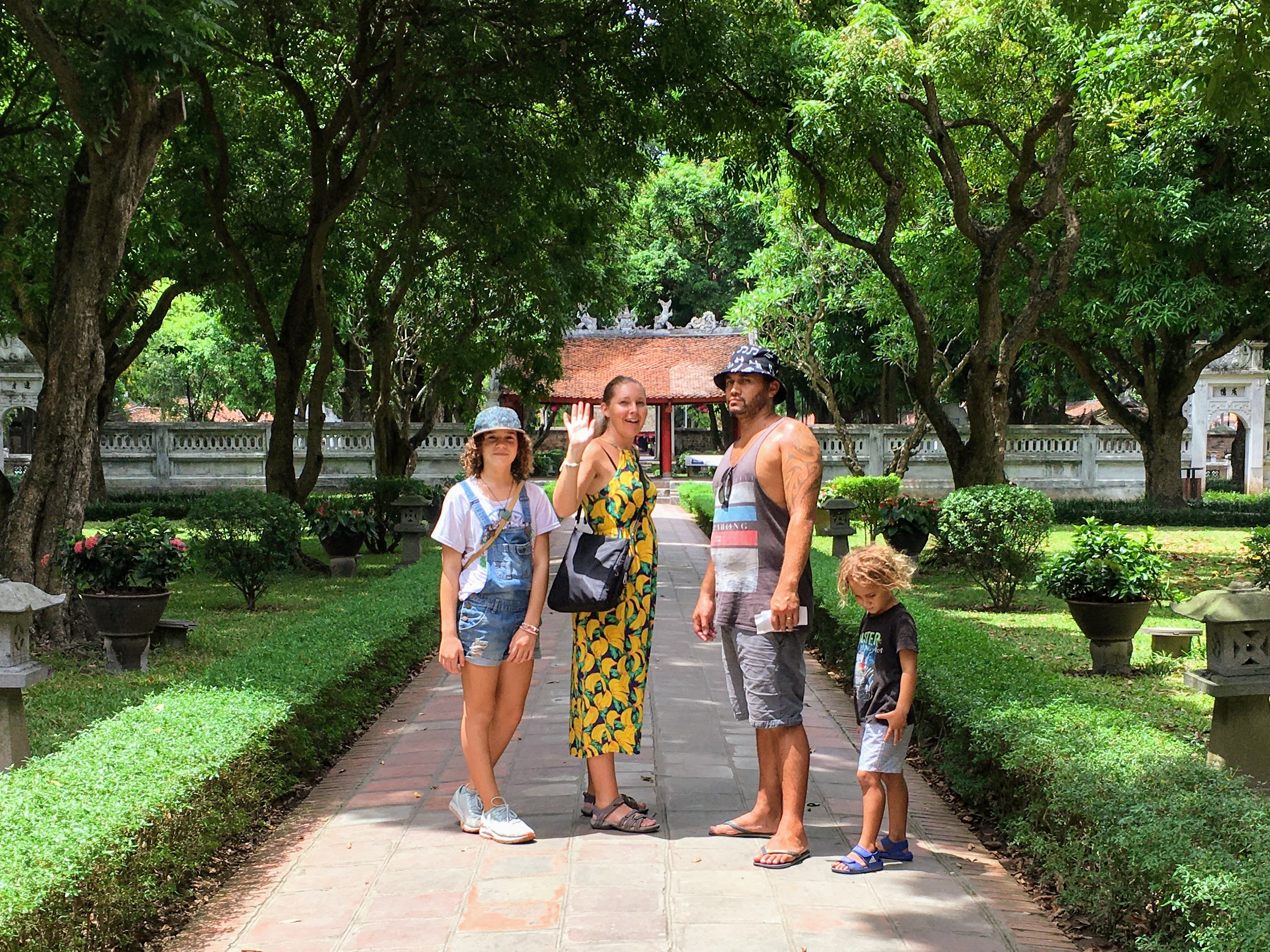 Temple of Literature, Hanoi, Vietnam - Best of Hanoi for Families - World Travel Ambitions - Family life outside the box